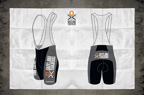 Outlaw Triathlon - Bib Shorts