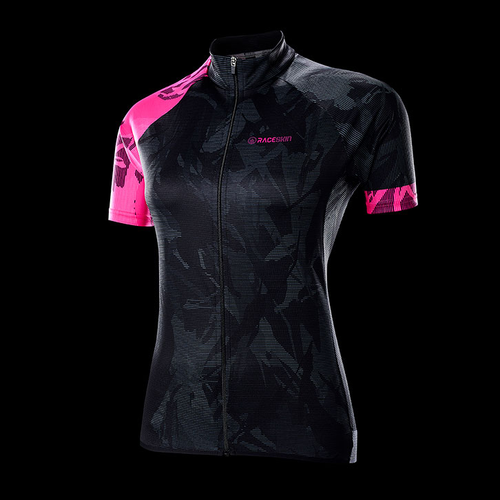 Product image of Raceskin SS Female Jersey - Fluro Pink
