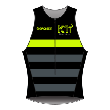 Product image of K1 - Elite Tri Top - Fluro Yellow