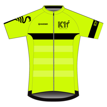Product image of K1 - SS Cycle Jersey - Fluro Yellow