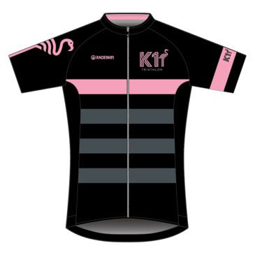Product image of K1 - SS Cycle Jersey - Black/Pink