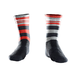 Product image of Red Raceskin Mismatch Socks.