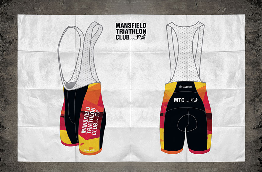 Mansfield Tri Club - Bib Shorts