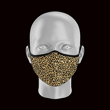 Product image of Adult Leopard Face Mask