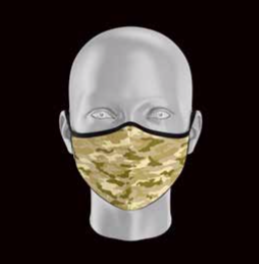 Product image of Adult Camo Face Mask