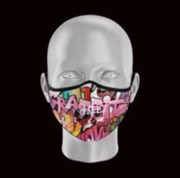 Product image of Adult Grafitti Face Mask