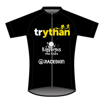 Product image of Trythan - SS Cycle Jersey (Black)