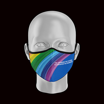 Product image of Childs Rainbow Face Mask