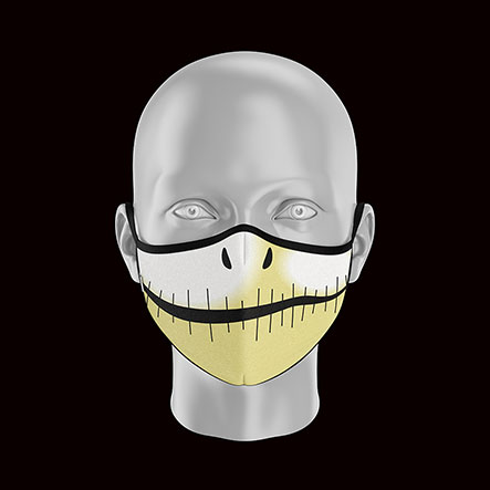 Product image of Childs Skeleton Face Mask