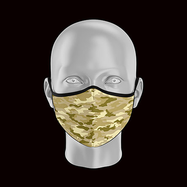 Product image of Childs Camo Face Mask
