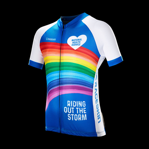 Product image of Love NHS Cycle Jersey Blue