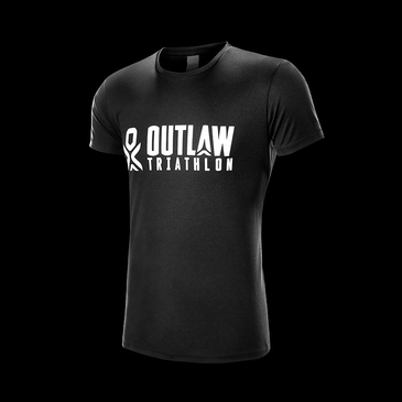 Product image of Outlaw Tri Black Tech T-shirt