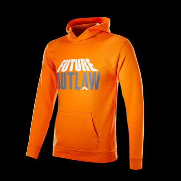 Product image of Future Outlaw Kids Orange Hoodie
