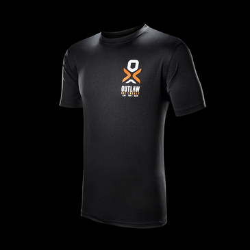Product image of Outlaw Full Black Performance T-shirt