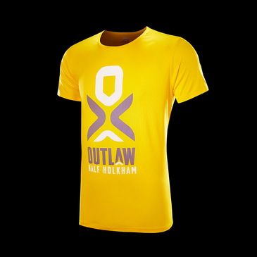 Product image of Outlaw Holkham Yellow Performance T-shirt