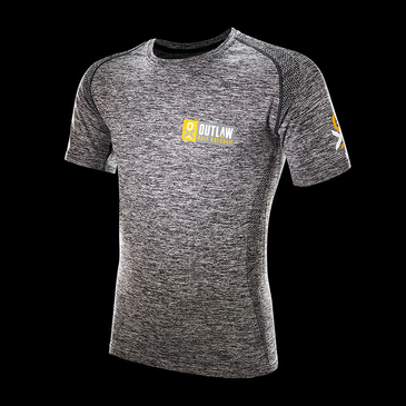 Product image of Outlaw Holkham Grey Technical T-shirt