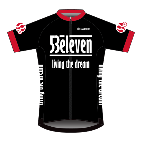Product image of 53eleven Cycle Jersey (Black)